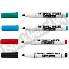 Маркеры Centropen White Board Marker, комплект, 4 шт