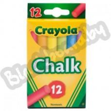 Мел беспылевой Crayola, в ассортименте.