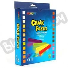 Пастельные разноцветные мелки Mungyo Chalk Pastels, комплект 12, 24 и 48 штук.