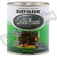 Rust Oleum Chalk Board Black – Черная грифельная краска, 0,946 литра, США