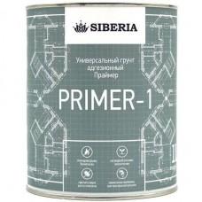 Siberia Primer 1 - Адгезионный грунт для сложных поверхностей, 1 литр, Россия