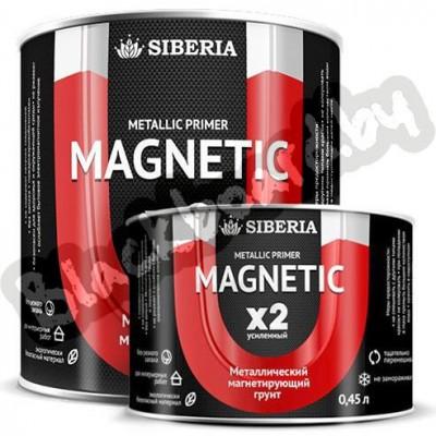 Siberia Magnetic X2 – Усиленная магнитная краска-грунт, 0.5-2.5 литра, Россия