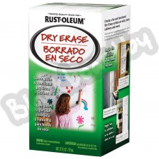 Rust Oleum Clear Dry Erase – Маркерное прозрачное покрытие для стен, 0.8 л, США