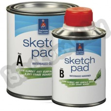 Sherwin Williams Sketch Pad – Комплект для создания маркерного покрытия на 4,5 м2, США.