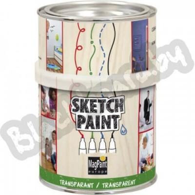 SketchPaint – Маркерная краска для стен, 0.5-1 литр, Нидерланды.