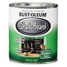 Rust Oleum Chalk Board Green – Зеленая грифельная краска, 0,822 литра, США